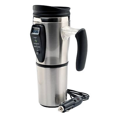 Stainless Steel Digital Heated Mug