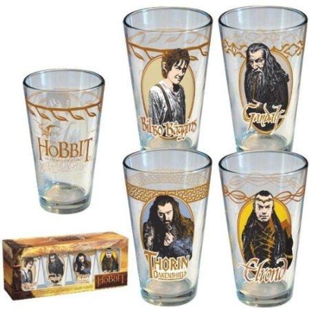 Hobbit Collector's Series Pint Glass 4-Pack