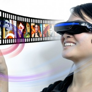 Virtual Private Theater Glasses - 52 Inch Wide Screen Display