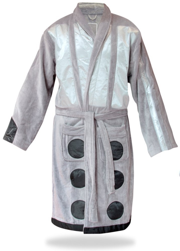 Doctor Who Silver Dalek Robe