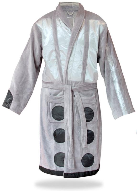 Doctor Who Silver Dalek Robe