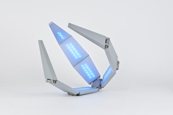 Shape Shifting Solar Lamp