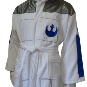 Star Wars R2D2 Hooded Terry Velour Robe for men