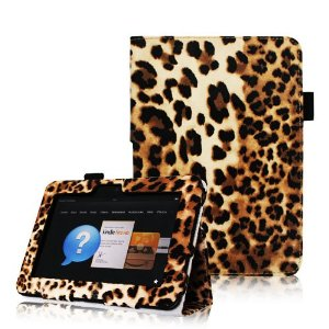 Case Cover With Automatic Sleep/Wake Feature for Kindle Fire HD 7