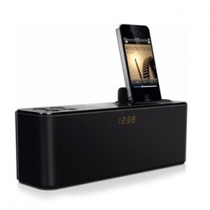 Philips Docking Speaker for iPod/iPhone with Clock Display