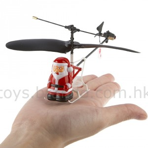 Rechargeable Mini RC Flying Santa