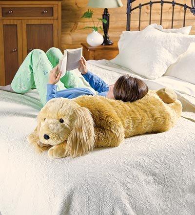 Cuddly Spaniel Body Pillow