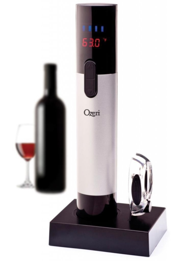 Electric Wine Opener With Infrared Wine Thermometer