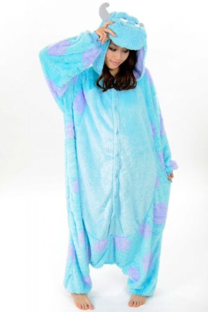 Sully Costume Kigurimi Adult Pajamas Gadgets Matrix
