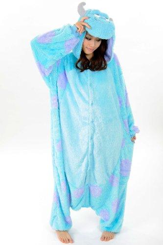 Sully Costume Kigurimi Adult Pajamas