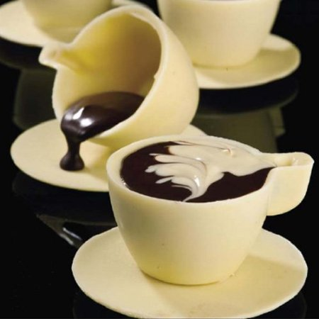 Big Mocha Cup Polycarbonate Chocolate Mold