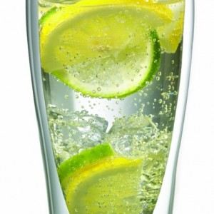 Double Wall Highball Soda Glass