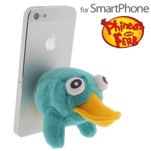 Phineas and Ferb Smartphone Stand