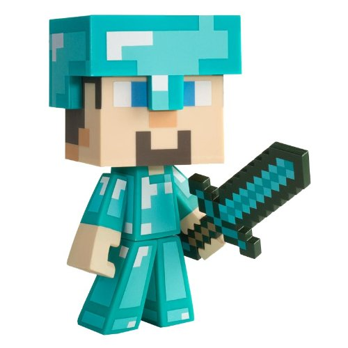 Minecraft Diamond Steve Vinyl 6″ Diamond Edition Figure