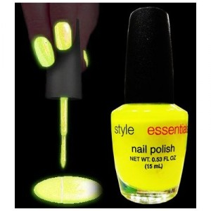 Black Light Responsive Nail Polish 4-Piece Set