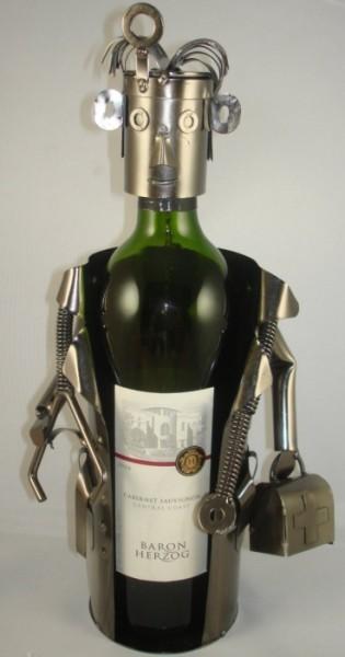 Doctor Metal Wine Bottle Holder