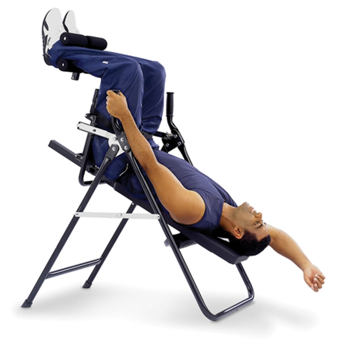 The Stress Minimizing Inversion Chair