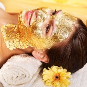 24 Karat Gold and Caviar Arabian Face Mask