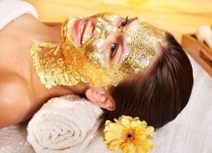 24 Karat Gold and Caviar Arabian Face Mask
