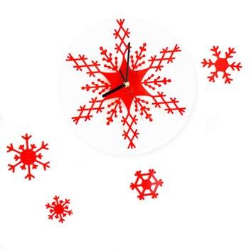 Snowflake Strong Acrylic Wall Clock