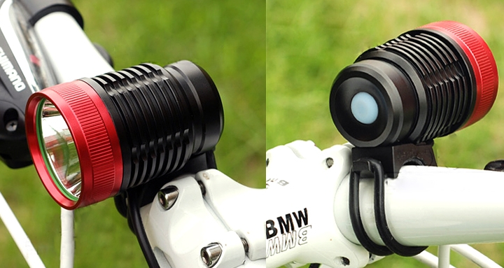 Bicycle Headlight and Headlamp
