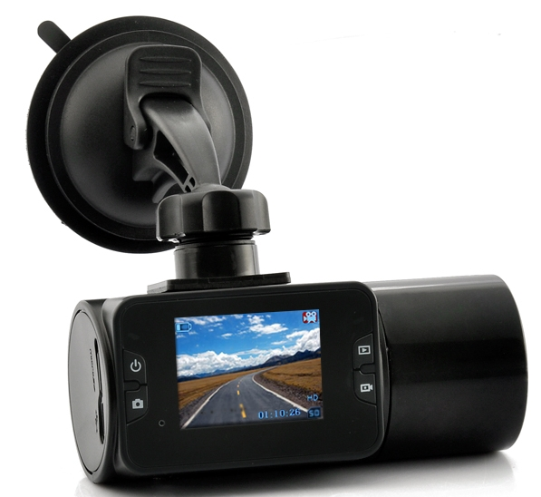 720P HD In-Car DVR – 2 Inch LCD Display, Night Vision