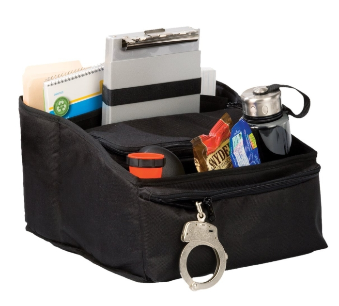 Law Enforcement Deluxe Car Seat Organizer