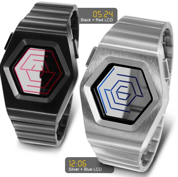Kisai Spider LCD Watch