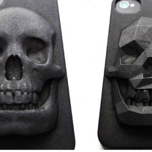 Skull iPhone Case Is 3D-Printed