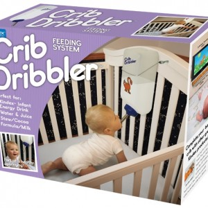 The Crib Dribbler Feeds Your Kid So You Don't Have To