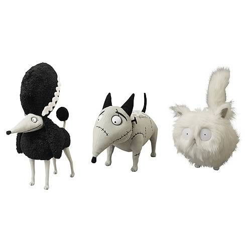 Frankenweenie Mascot Small Plush Set