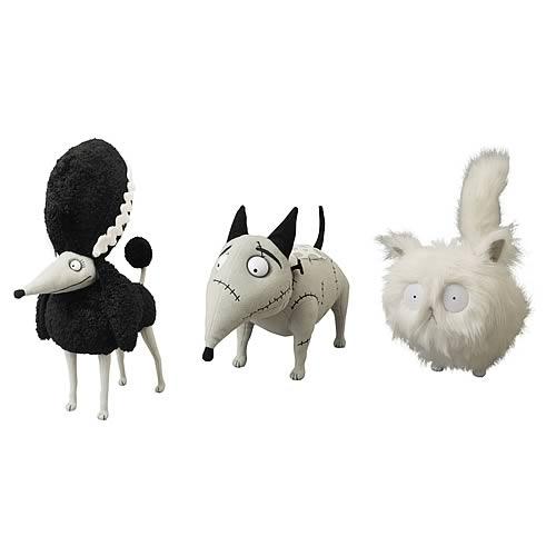 Frankenweenie Mascot Small Plush Set