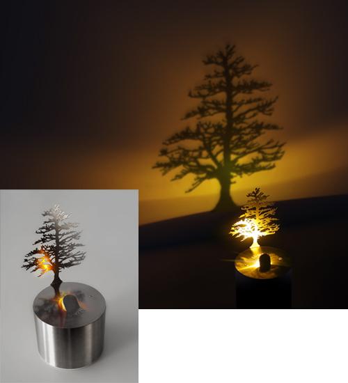 LUMEN LED PINE TREE SHADOW PROJECTOR