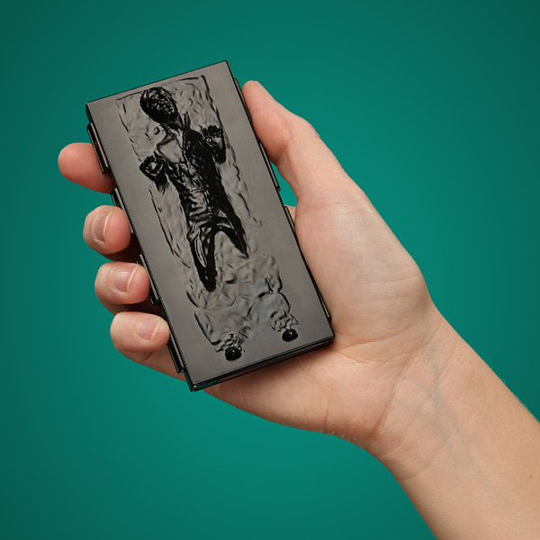 Han Solo in Carbonite Business Card Case