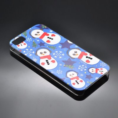 Christmas Snowman Swarovski Crystal iPhone 5 Cases