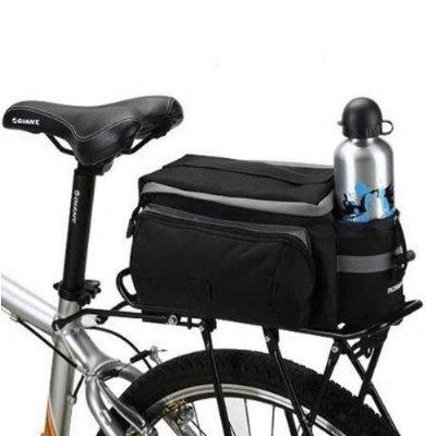 Black Multi-functional Bicycle Rear Seat Trunk Bag