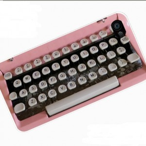 PInk Typewriter iPhone 5 Case