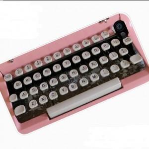 PInk Typewriter iPhone 5 Case
