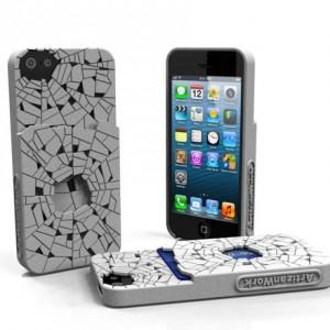 Shattered - Designer iPhone 5 Case w/ Pocket