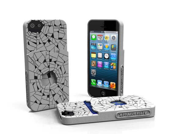 Shattered - Designer iPhone 5 Case w/ Pocket