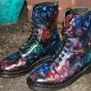 Galaxy Cosmic Print Dr Martens