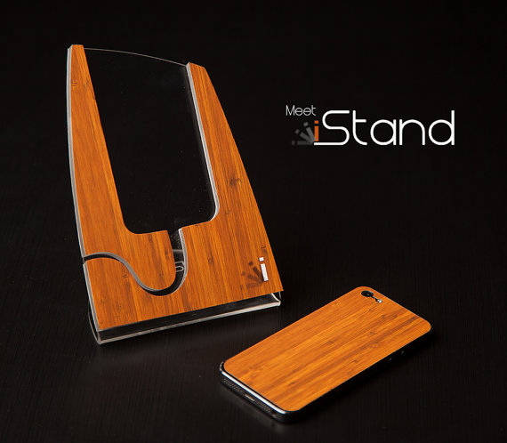 Bamboo iStand for iPhone 5