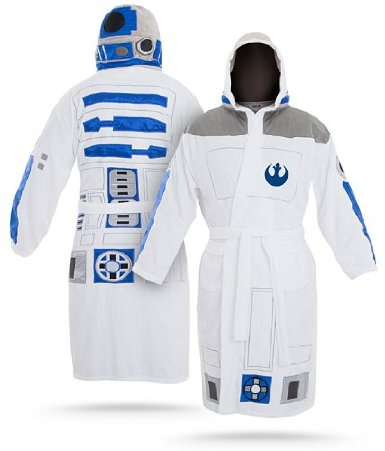 Star Wars R2-D2 Adult Bathrobe