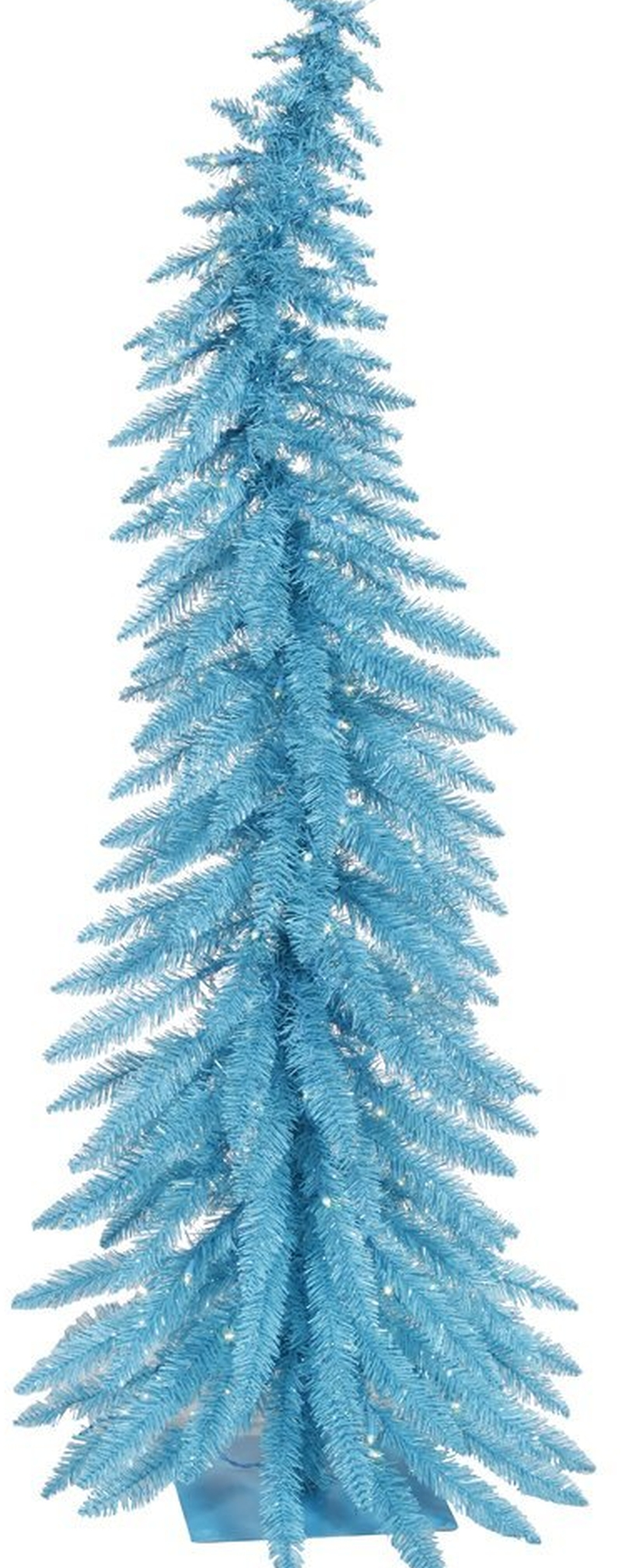 Sky Blue Lights Christmas Tree