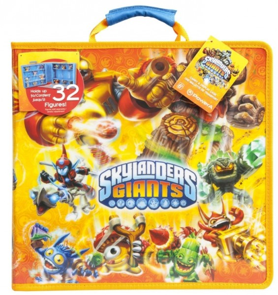 POWER A SKYLANDERS CARRY & DISPLAY CASE