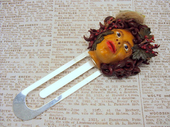 Bookmark in Polymer Clay
