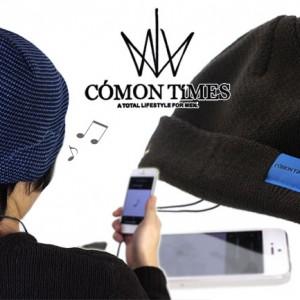 COMON TIMES Speaker Knit Cap