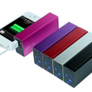 Powerocks Rose Stone 5200mAh Purple Universal Extended Power Bank