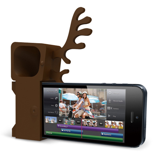 Zoo Deer Stand and Amplifier for iPhone 5