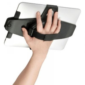 No-Grip iPad Holder With Adjustable Desktop Stand
